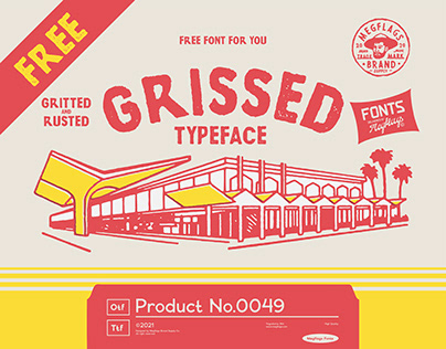 [FREE FONT] Grissed Typeface