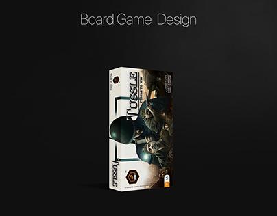 Board Game Design | Tussle | Product Design
