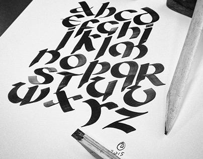 Caligrafía // Uncial + Gótica - Formas y Movimientos