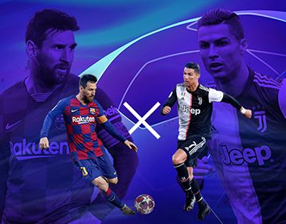 Champions League / Game announce web-banner