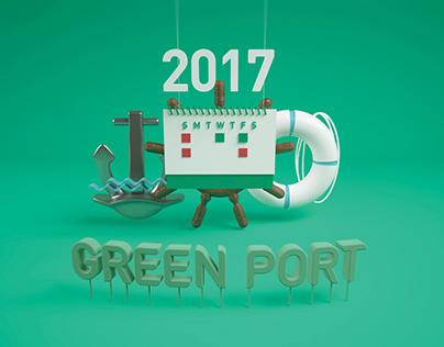 2017 Green Port calendar