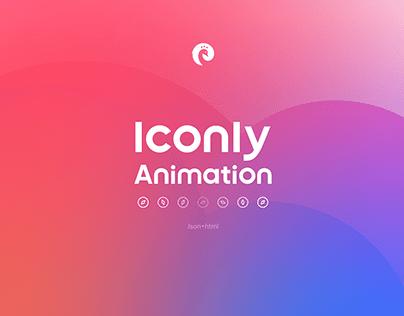 Iconly Animation | 100 Animated icons
