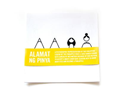 Alamat Ng Pinya: Iconographic Book