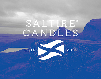 Saltire Candles