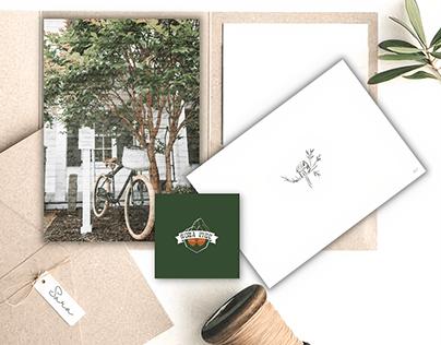 Conceptual branding hygge caffe