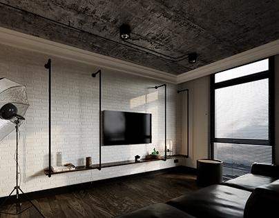 Loft Apartment   LIVING