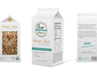 Cereal Carton Package Design Concept