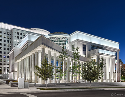 State Judicial Building-Night & Day-Architecture Photos