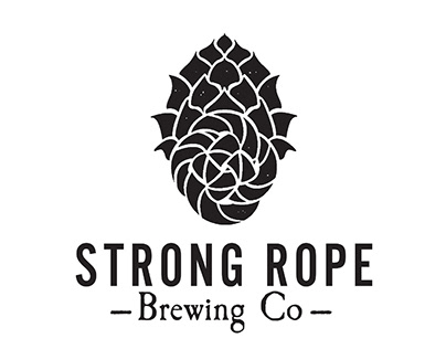 LOGO DESIGN \\ strong rope brewing