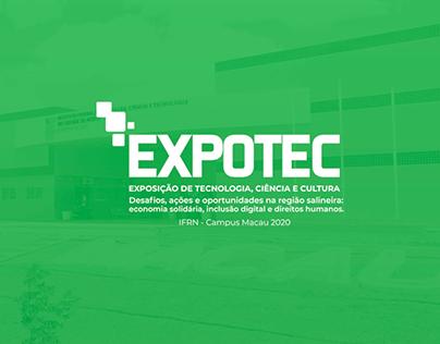 EXPOTEC 2020 - Identidade Visual