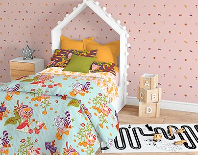 Alice in Wonderland: Kid's Room