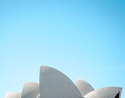 Landing page для тура по Австралии