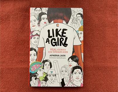Like A Girl | Portrait Editorial