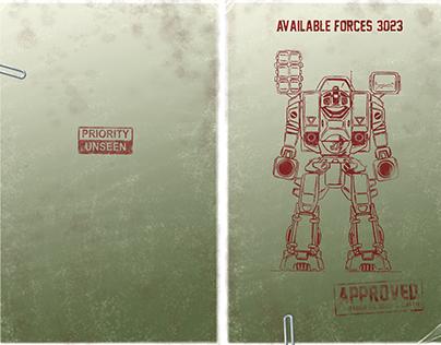 Battletech - Graphic Design
