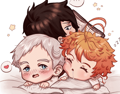 The Promised Neverland Projects Photos Videos Logos Illustrations And Branding On Behance