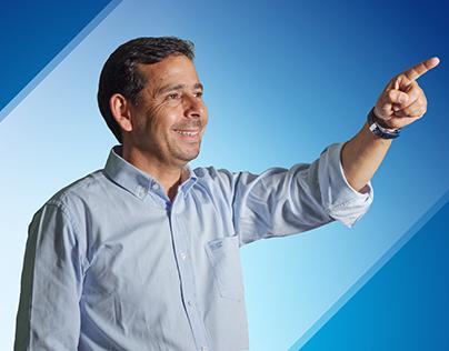 Campaña para elecciones municipales.