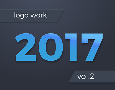 Logo Design Selection from 2017 - Vol. 2