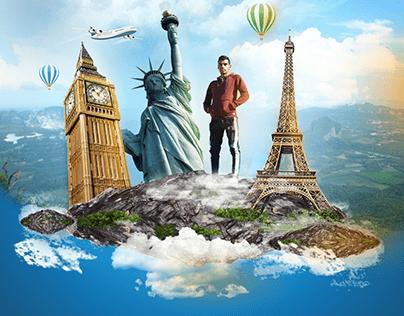 social media design for travel