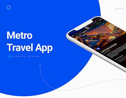 Metro Travel App | Concept Design