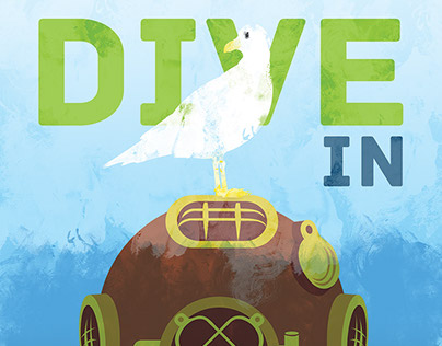 """""""Dive In"""" Poster for Purch"""
