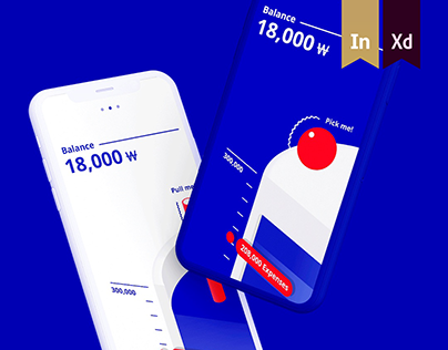 CAFÉ IN BANK - Finance App Concept