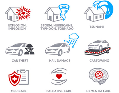 Insurance infographics