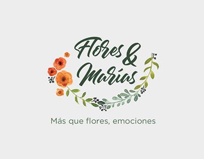 Logo - Flores & Marias