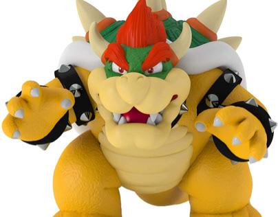 Bowser - Villano de Mario  Bros -