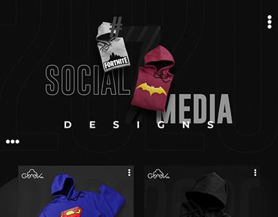 Social Media Designs #7