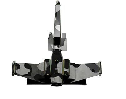 Jet fighter R-76 :Camo Edition