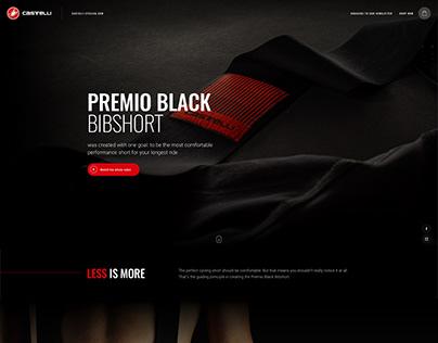 Castelli Cycling - Premio Black