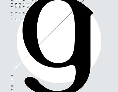 Walter - Typeface Design