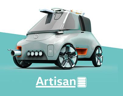 VW Artisan - Professional Urban Mobility