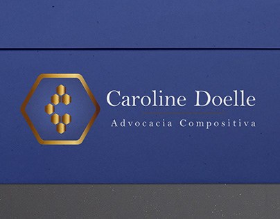 Identidade Visual da Advogada Caroline Doelle