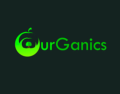 Ourganic Logo with modern concept
