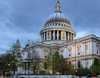Ritin Parbat Diary - St Paul's Cathedral