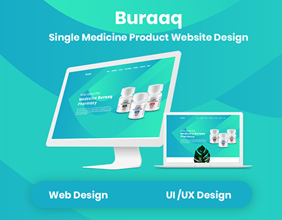 Buraaq-Single Medicine Product User Interface Design