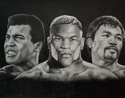 MohameDali MikeTyson MannyPacquiao