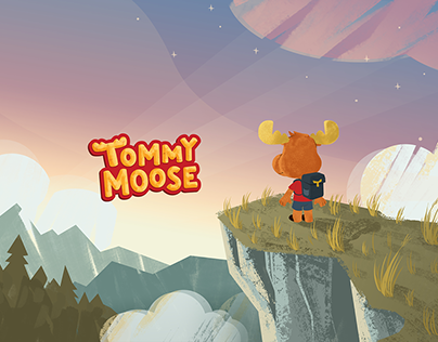Tommy Moose Brand and Character Design