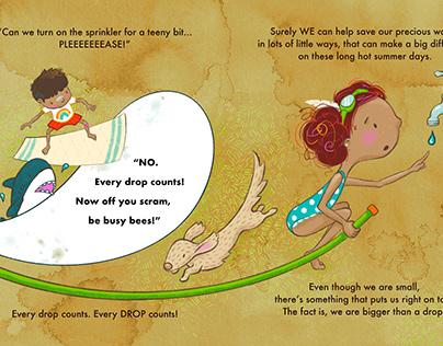 """""""Bigger than a drop"""" illustration 1"""