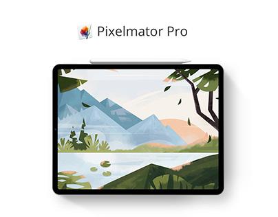 Custom Illustration for Pixelmator Pro