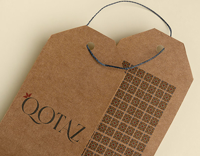 QOTAZ/Azerbaijan National Textile Brand/branding design