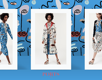 Ports 1961 - Fabric prints