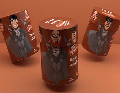 digestive packaging