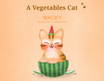 Theme05 - A vegetable cat