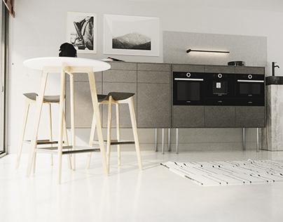 Semi kitchen
