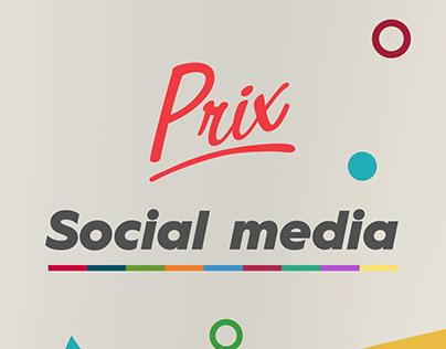 Prix - Social Media