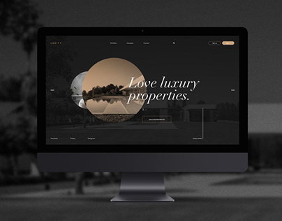 Luxity - Architecture Web (concept)