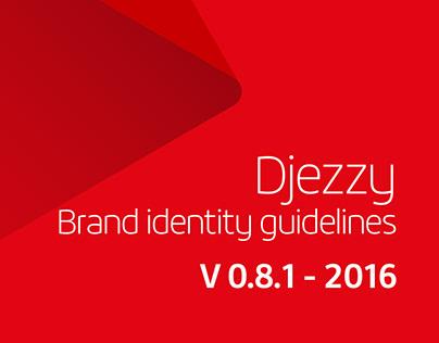 Djezzy Brand guidelines 2016