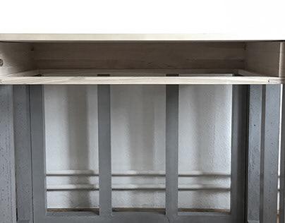 Concrete desk prototype